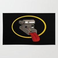 polaroid Area & Throw Rugs featuring Polaroid by gunberk