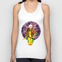 rogue Tank Tops featuring Rogue by Doodleholic