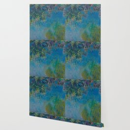 "Claude Monet ""Wisteria"" Wallpaper"