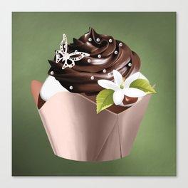 Holiday Cupcakes Canvas Print