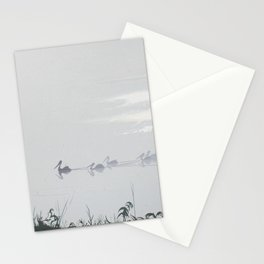 Misty Morning on the Clarence (1994) Stationery Cards