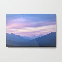 Pastel Sky Metal Print