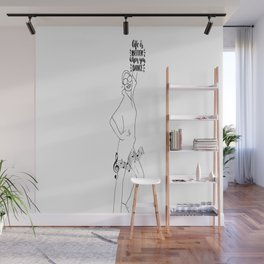 Life is better when you dance! Wall Mural