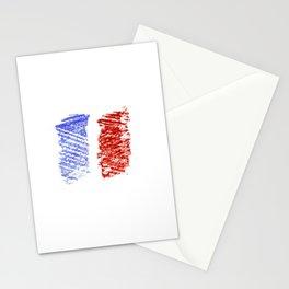 Flag of France 12- France, Français,française, French,romantic,love,gastronomy Stationery Cards