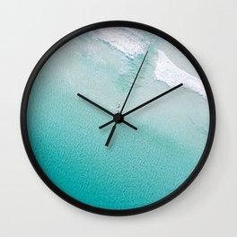 Leighton Beach Aerial Wall Clock