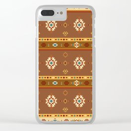 AFE Southwestern 2 Clear iPhone Case