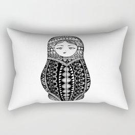 Russian Nesting Doll Rectangular Pillow