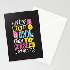 LIGHT A CANDLE Stationery Cards