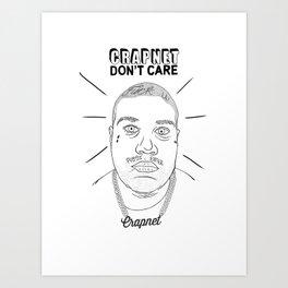 CRAPNET Don't Care - 'Romance' Art Print