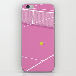 Tennis Court iPhone Skin