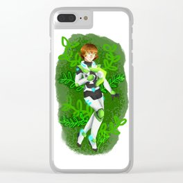 The Green Paladin Clear iPhone Case