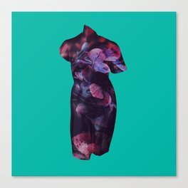 She Who Lives Delicately Canvas Print