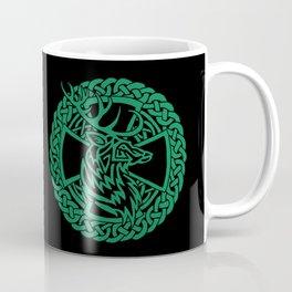Celtic Nature Deer Coffee Mug