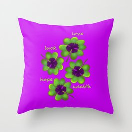 Take your chance Throw Pillow