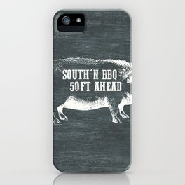SOUTHERN BBQ iPhone Case