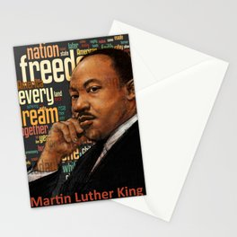 Martin Luther King Quotes Stationery Cards