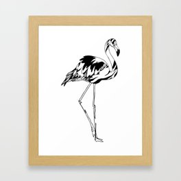 Flamingo #02 Framed Art Print