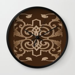 J'aime le chocolat, I love chocolate Wall Clock