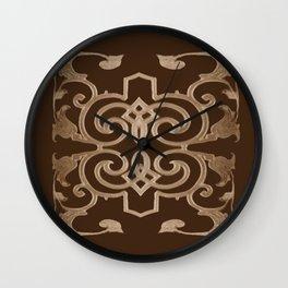 J'aime le chocolat, I love chocolate Wall Clock