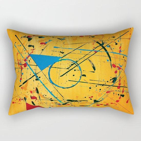 construction no. 2 Rectangular Pillow