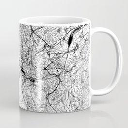 Oslo White Map Coffee Mug