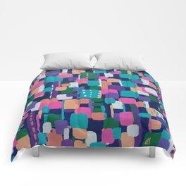 Geometric Spring Comforters