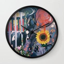 Doom of the Trifecta Wall Clock