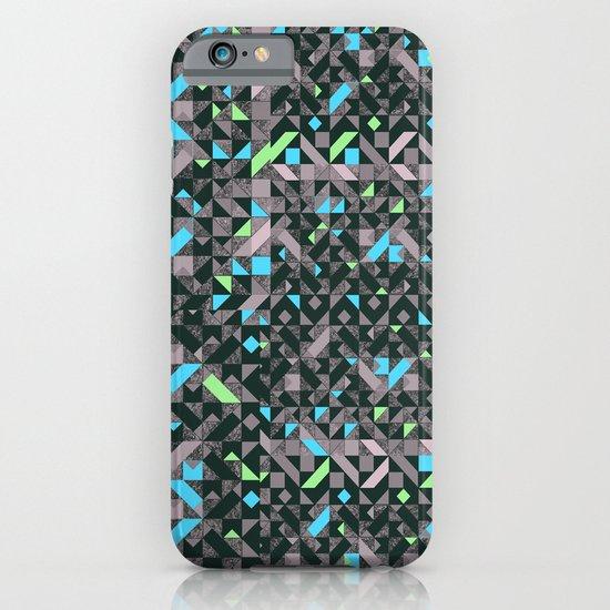 GEOMETRIC GREYS AND BLUES  iPhone & iPod Case
