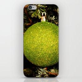 Green Ornament iPhone Skin