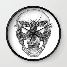 Commedia dellarte The Moth Wall Clock