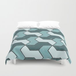 Distressed to Impress Duvet Cover