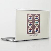 divergent Laptop & iPad Skins featuring Divergent by Galen Valle