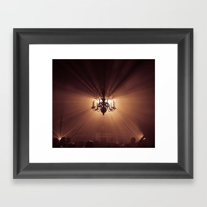 Behind The Candelabra Framed Artwork by Danielfornissria FRM8414407