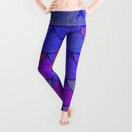 Multicolor Scales Leggings