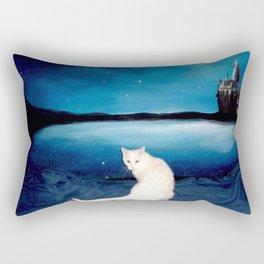 Tyche magical kitty Rectangular Pillow