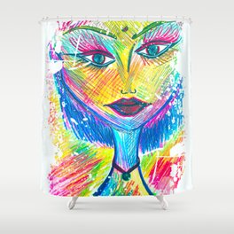 The Difference Between Fairies and You, Is That Your Wings Are Hidden in Your Heart... Shower Curtain