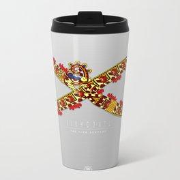 Xihucoatl - The Fire Serpent Metal Travel Mug