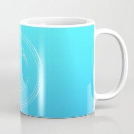 Arcane Gradient twilight teal blue Coffee Mug