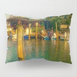 Florida Watering Hole Pillow Sham