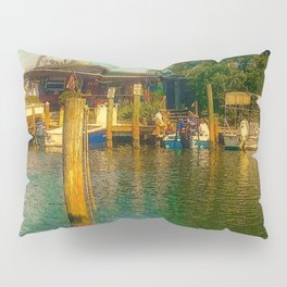 Florida Watering Hole Pillow Sham