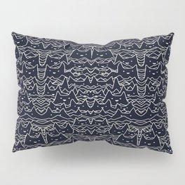 Wave of Cats Pillow Sham