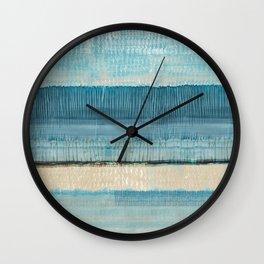 Dreams in Blue Wall Clock