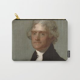 Thomas Jefferson Painting Carry-All Pouch
