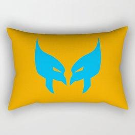 Wolverine Mask Rectangular Pillow