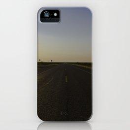 Empty Roads iPhone Case