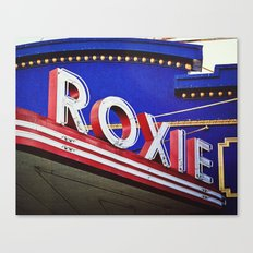 Vintage Theater Sign, San Francisco Canvas Print