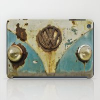 vw iPad Cases featuring VW Rusty by Alice Gosling