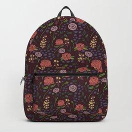 Vintage Peony Backpack