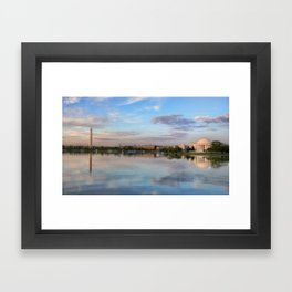 Capitol Reflections Framed Art Print