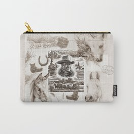 Country Western Carry-All Pouch